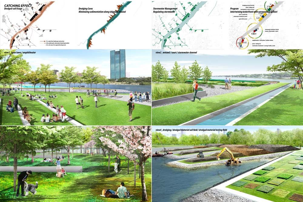 Bustler: North Coast Design Competition winners offer dredging solutions  for the Toledo, Ohio waterfront - North Coast Design Competition Winners Offer Dredging Solutions For