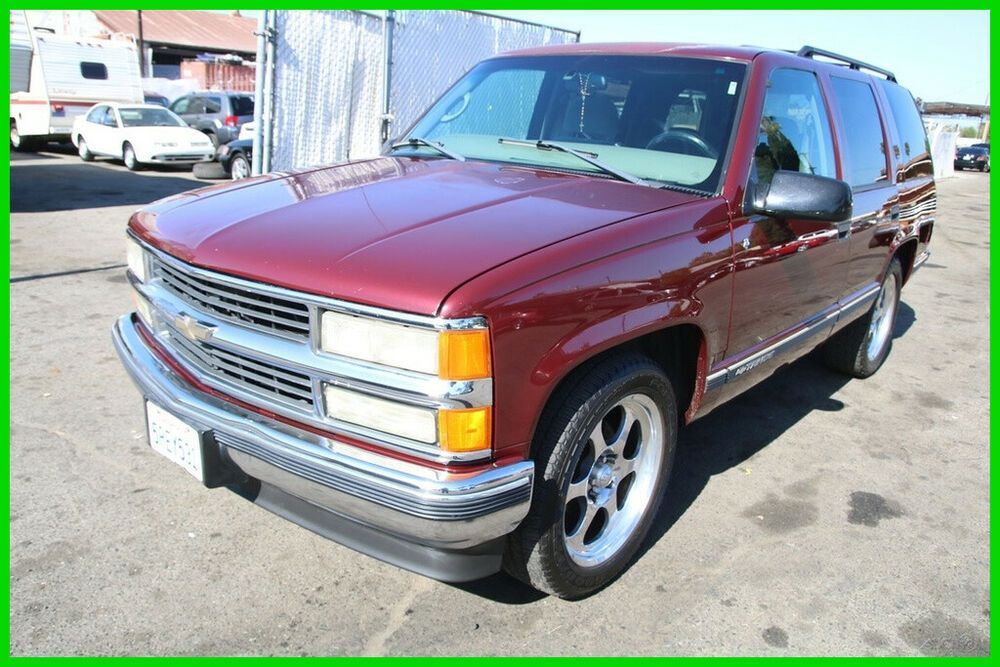 Ebay Advertisement 1999 Chevrolet Tahoe Ls 1999 Chevrolet Tahoe