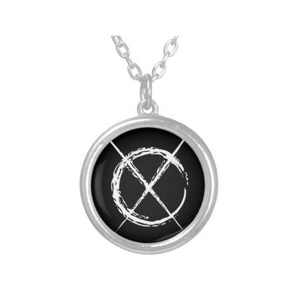 Slender man round pendant necklace 23 liked on polyvore slender man round pendant necklace 23 liked on polyvore featuring jewelry necklaces aloadofball Gallery