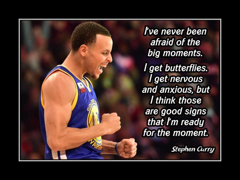 Inspirational NBA Basketball Motivation Quote Wall Art