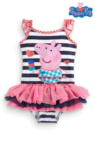 f1aa893188 Buy Peppa Pig™ Tutu Swimsuit (Younger Girls) from the Next UK online shop