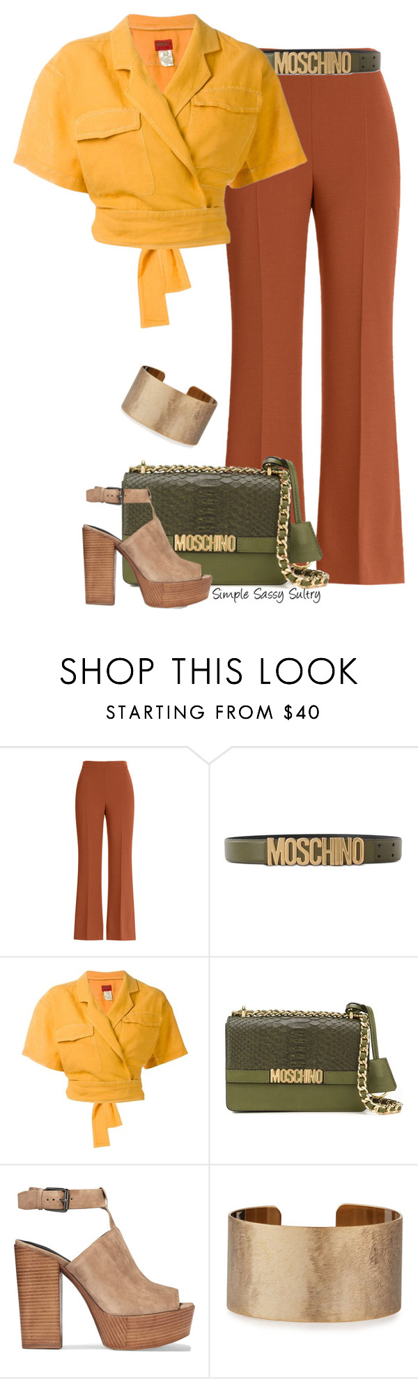 """""""Autumn"""" by simplesassysultry on Polyvore featuring Fendi, Moschino, Kenzo, Rebecca Minkoff and Panacea"""