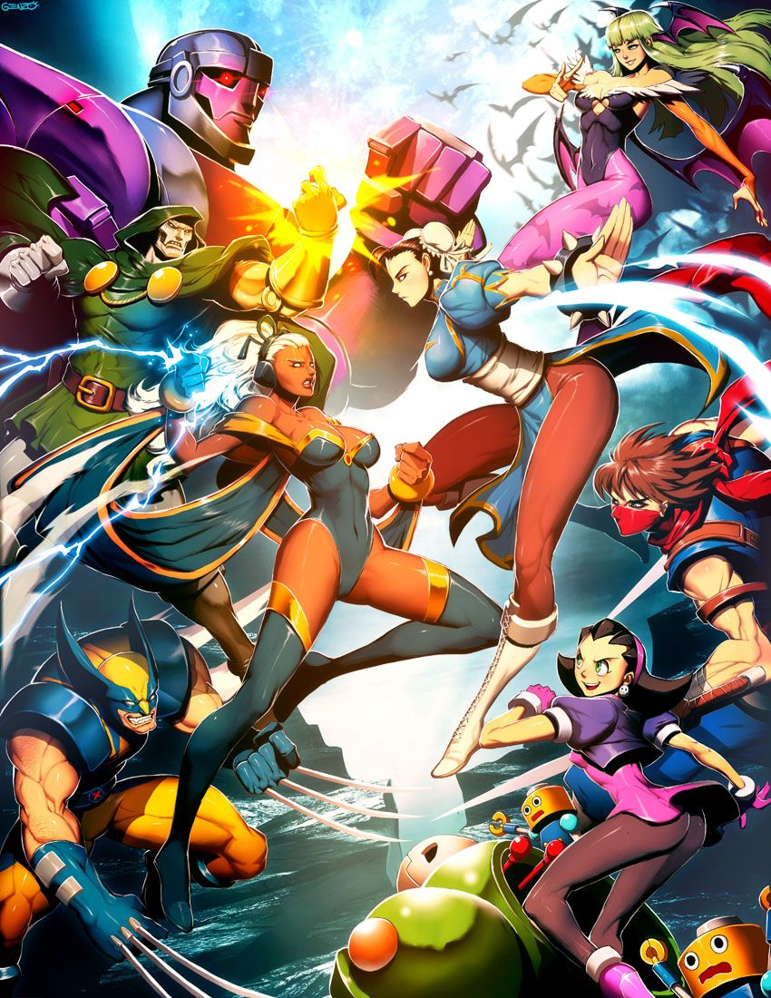 Some Of The Greatest Video Game Pictures You Ll Ever See Marvel Superheroes Artwork Marvel Vs Capcom Marvel Vs