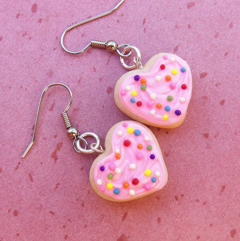 sugar cookie earrings