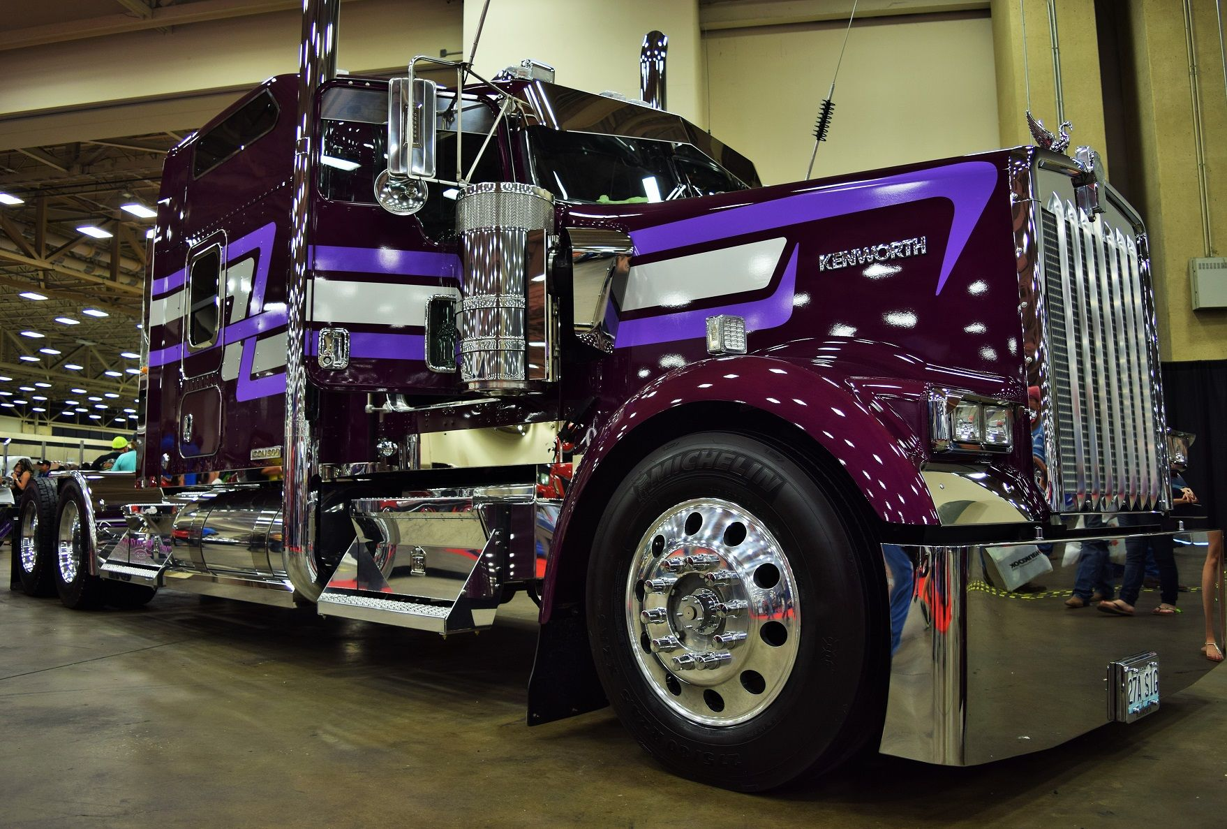 Second look' at premium Kenworth Icon 900, following