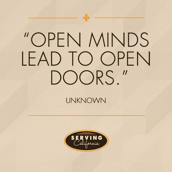 Open Minds Lead To Open Doors Thoughts Quotes Inspirational Quotes Mindfulness