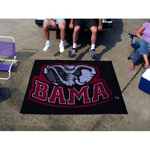Alabama Crimson Tide NCAA Tailgater Floor Mat 5x6