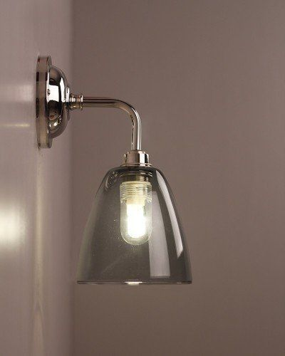 Smoked Glass Bathroom Wall Light Pixley Retro Traditional Industrial Design Lighting Ip44 Rated Bathroom Light Fixtures Wall Lights Glass Bathroom