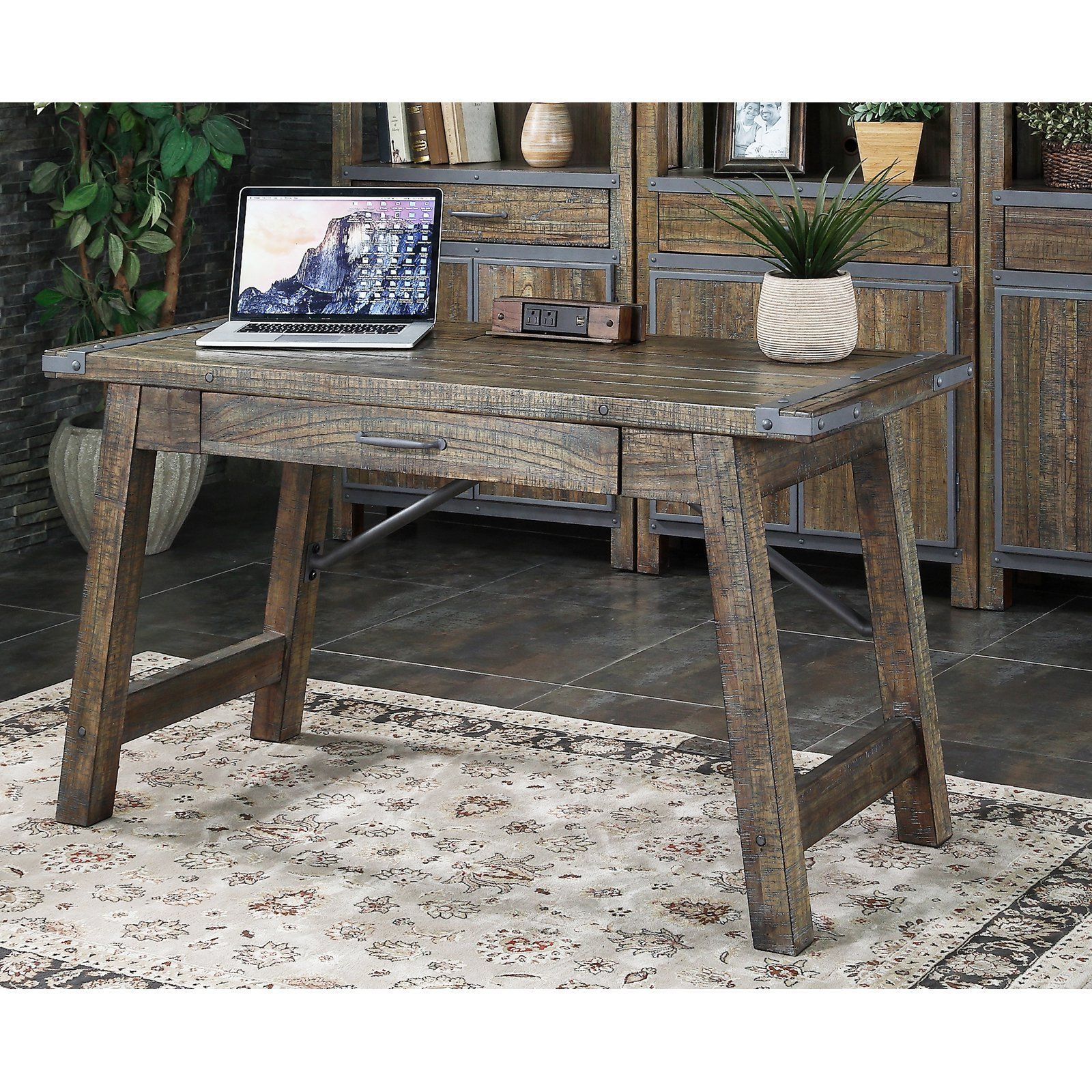 hooker secretary l product du with furniture writing rub desk travial zm office gray antique white traditional off la maison
