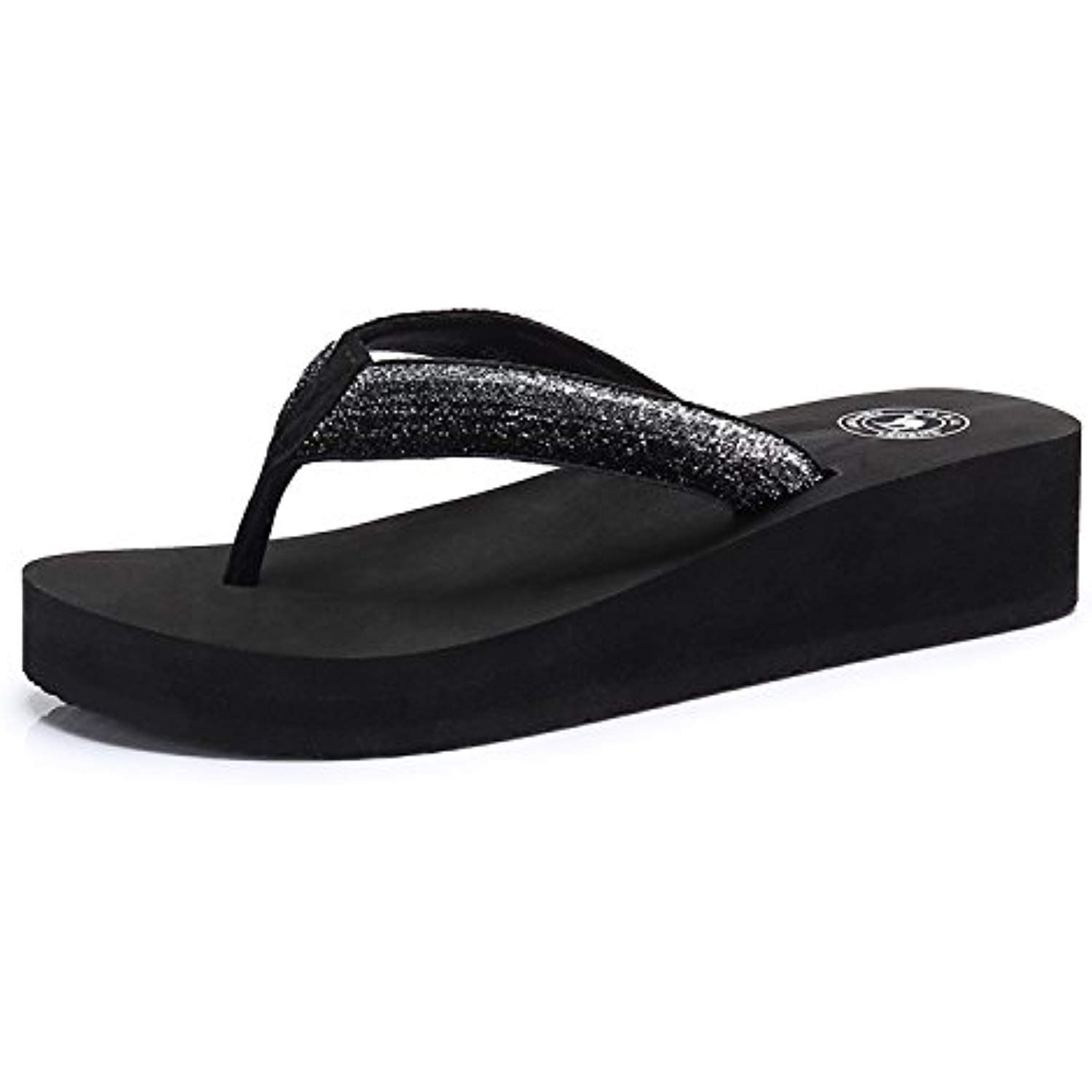 429eb8f2fc7a Women s Slim Flip Flop Fashion Wedge Sandals Arch Support Thong Beach Flip- Flop    Read more reviews of the product by visiting the link on the image.