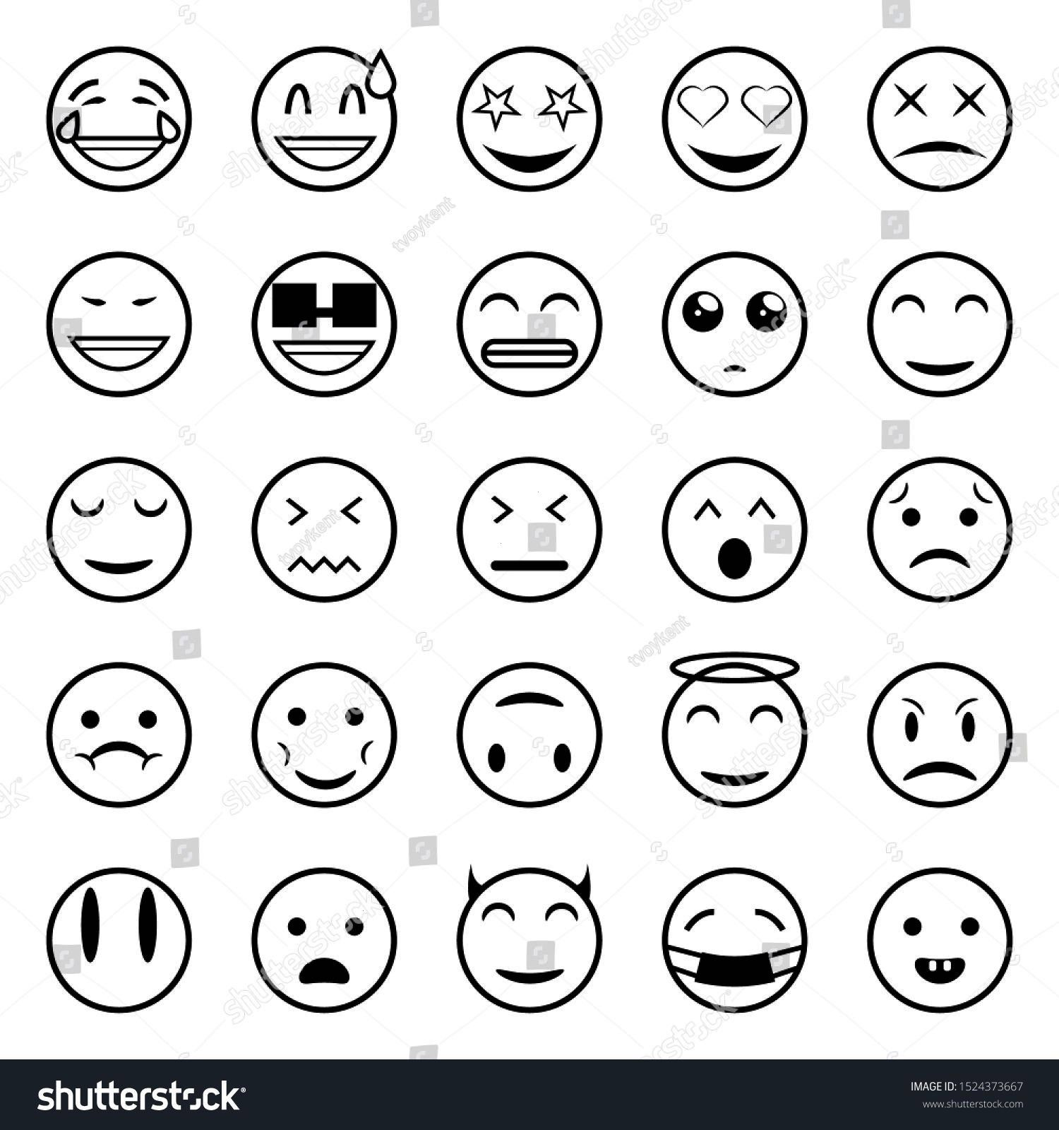 Emoticonfacessmilefunny Emoticonfac Expression Effective Emoticons Presented Beautiful Pictures Emoticon Quality Outline Picture Things Smiley Fa 2020