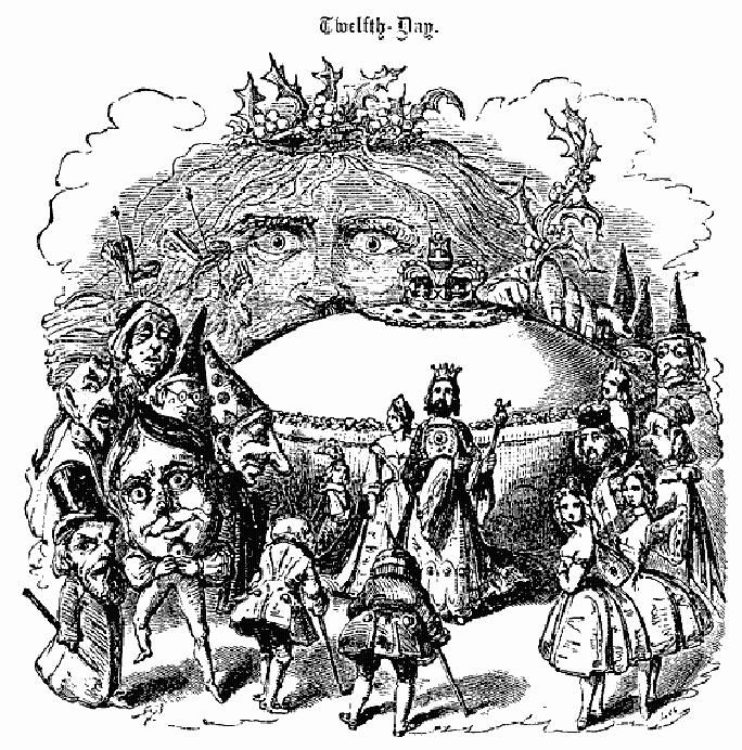 Victorian Twelfth Day Cake