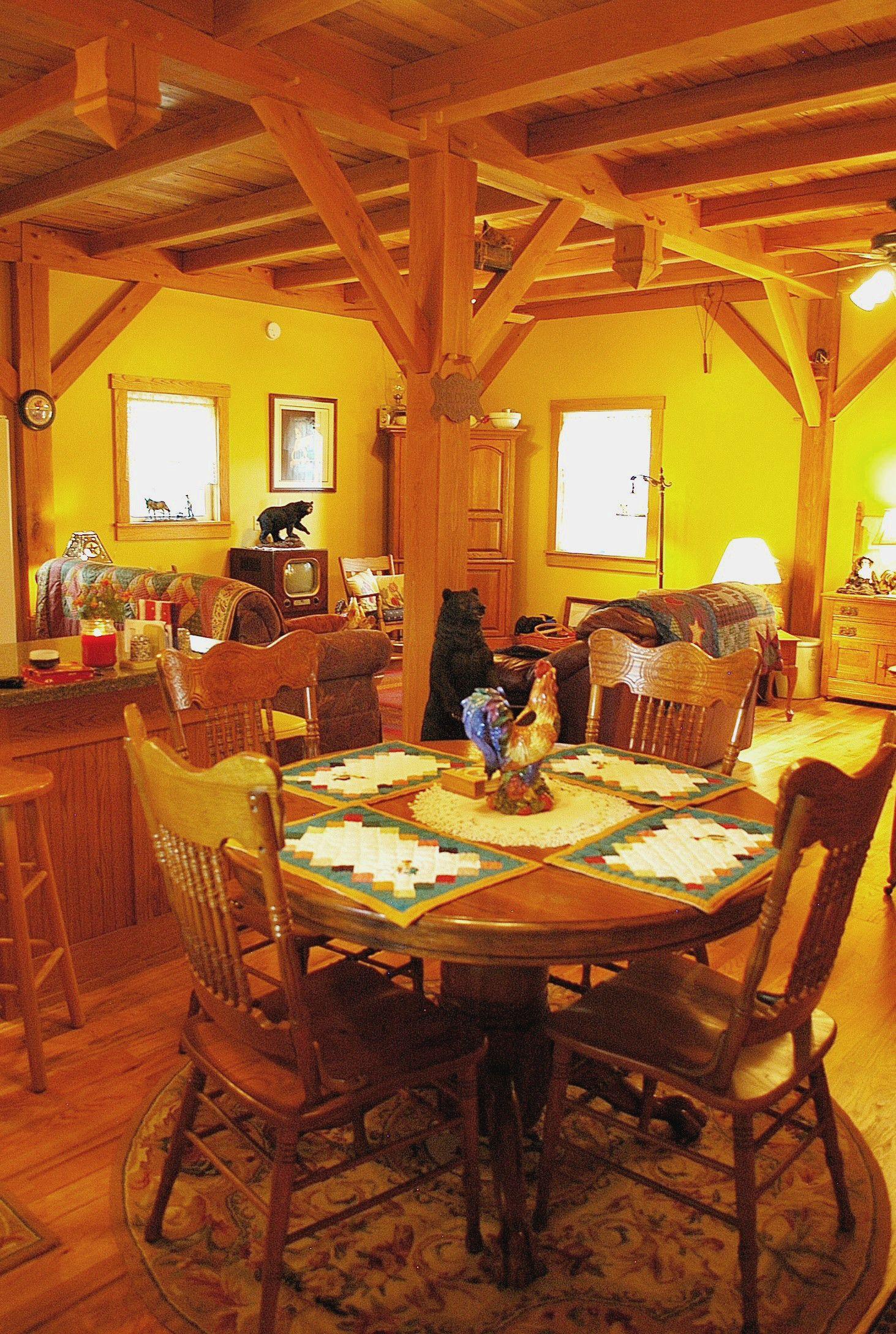 Wood Ceiling Beams  Timber Frame Ceiling Beams  Beamed
