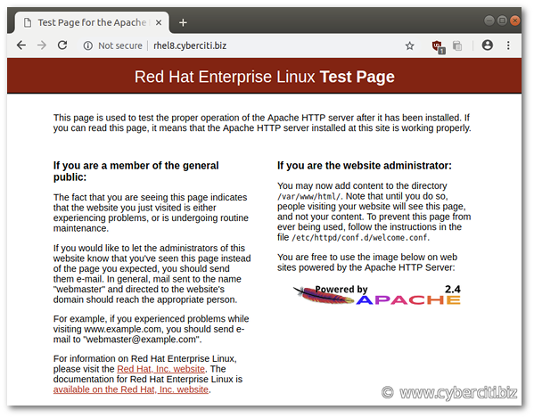 How To Set Up Linux Apache Mysql Php Lamp Stack On Rhel Eight Linux Mysql Red Hat Enterprise Linux