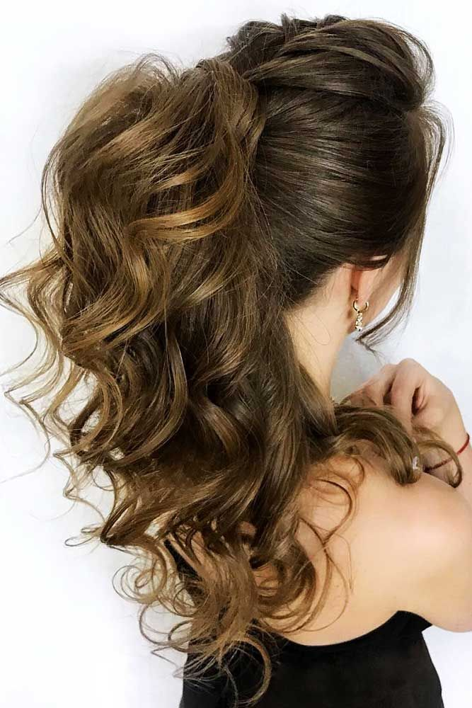 60 Sophisticated Prom Hair Updos   High ponytail ...