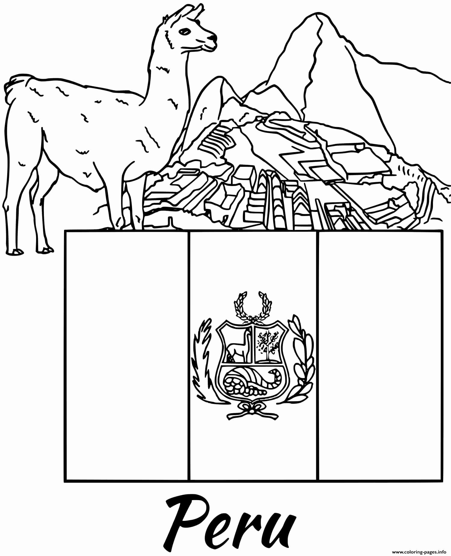 Peru Flag Coloring Pages Elegant Peru Flag Coloring Page Federalgrantsource Flag Coloring Pages Coloring Pages Frog Coloring Pages
