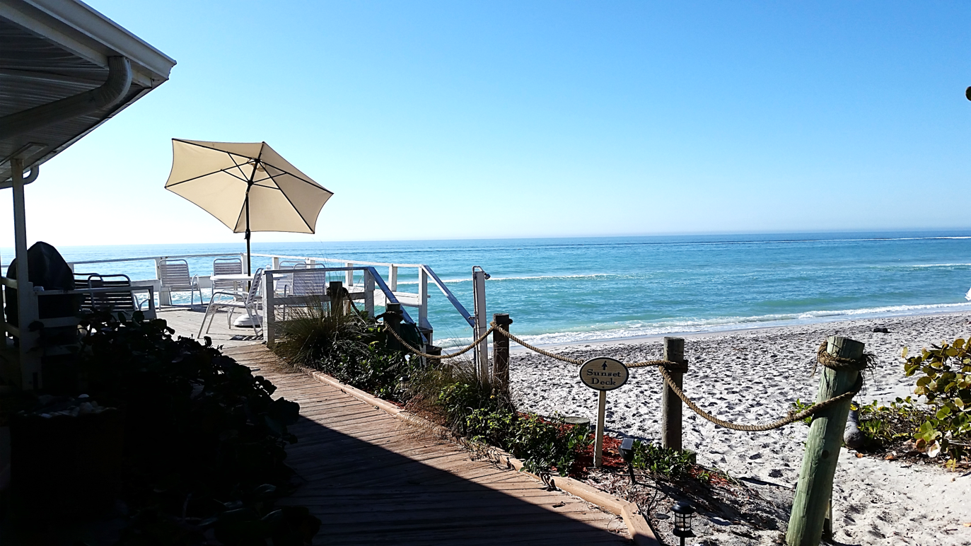 Join us on our Sunset Deck! | Florida hotels, Pearl beach