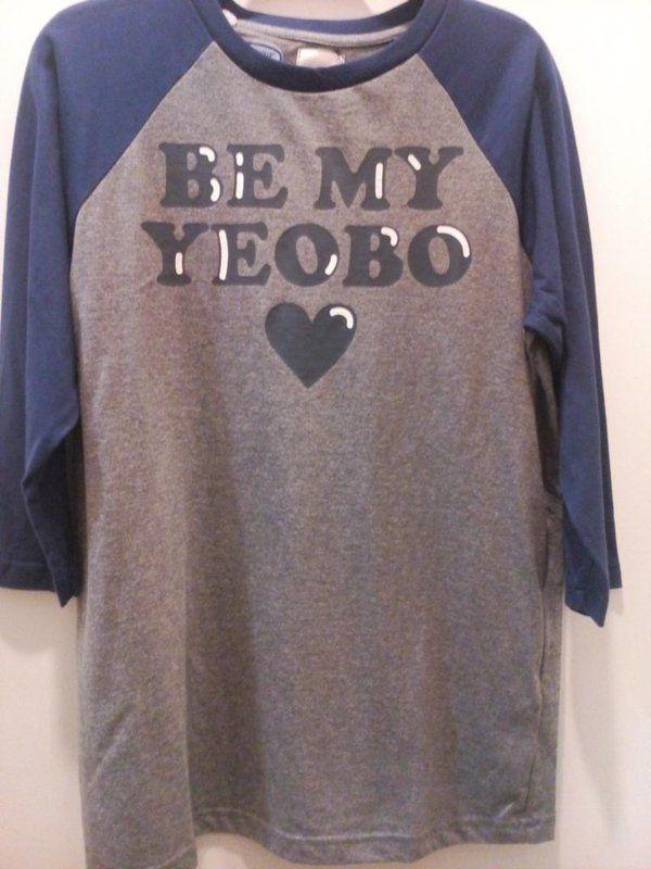 2016 Bench Philippines Fashion Apparel T Shirt Be My Yeobo Colour Grey Blue Endorsed By Brand Ambassador Korean T Shirts For Women Fashion Shirts