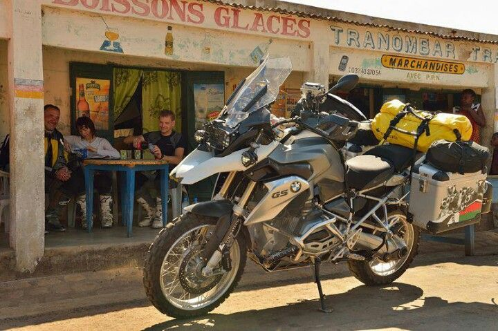 The dream: BMW R 1200 GS with Touratech accesories.