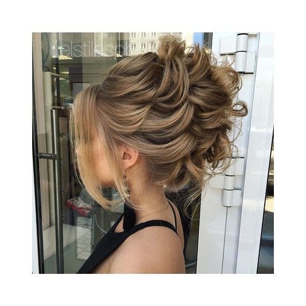 40 Most Delightful Prom Updos For Long Hair In 2016 Liked On Polyvore Featuring Hair Long Hair Styles Hair Styles Medium Hair Styles