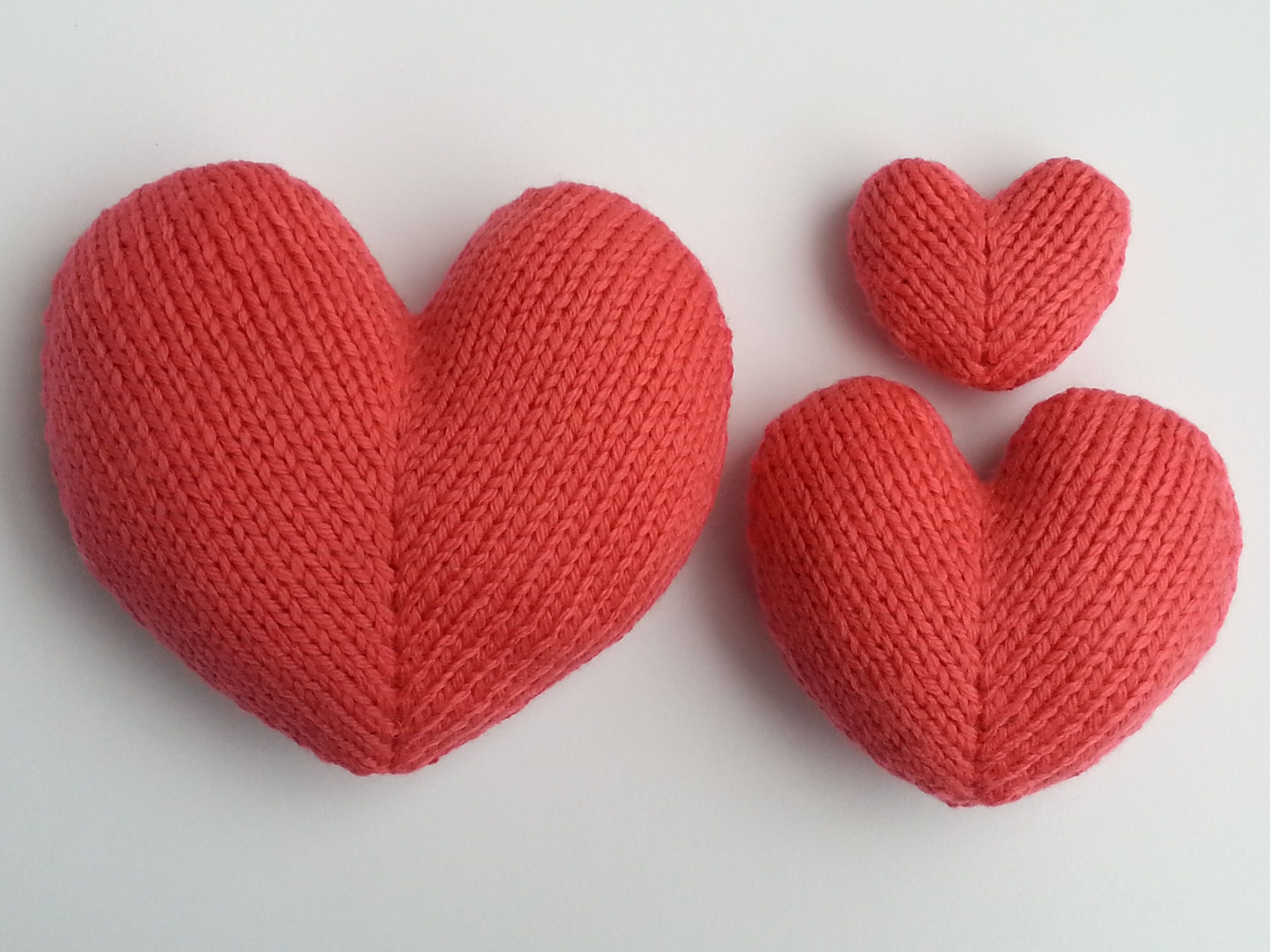 Love Hearts | Knitting patterns, Patterns and Anniversary gifts