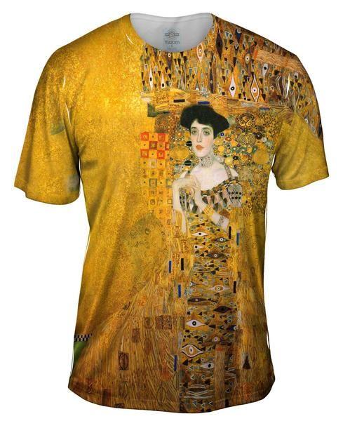 "Gustav Klimt - ""Portrait of Adele Bloch-bauer"" (1907)Mens T-Shirt"