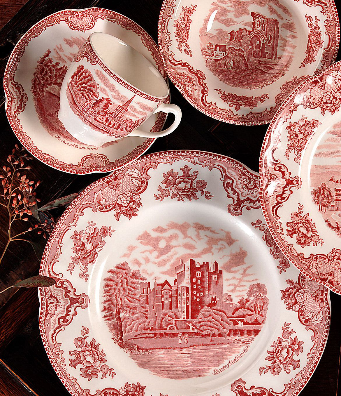 Johnson brothers old britain castles china for the home pinterest - Johnson brothers vajilla ...