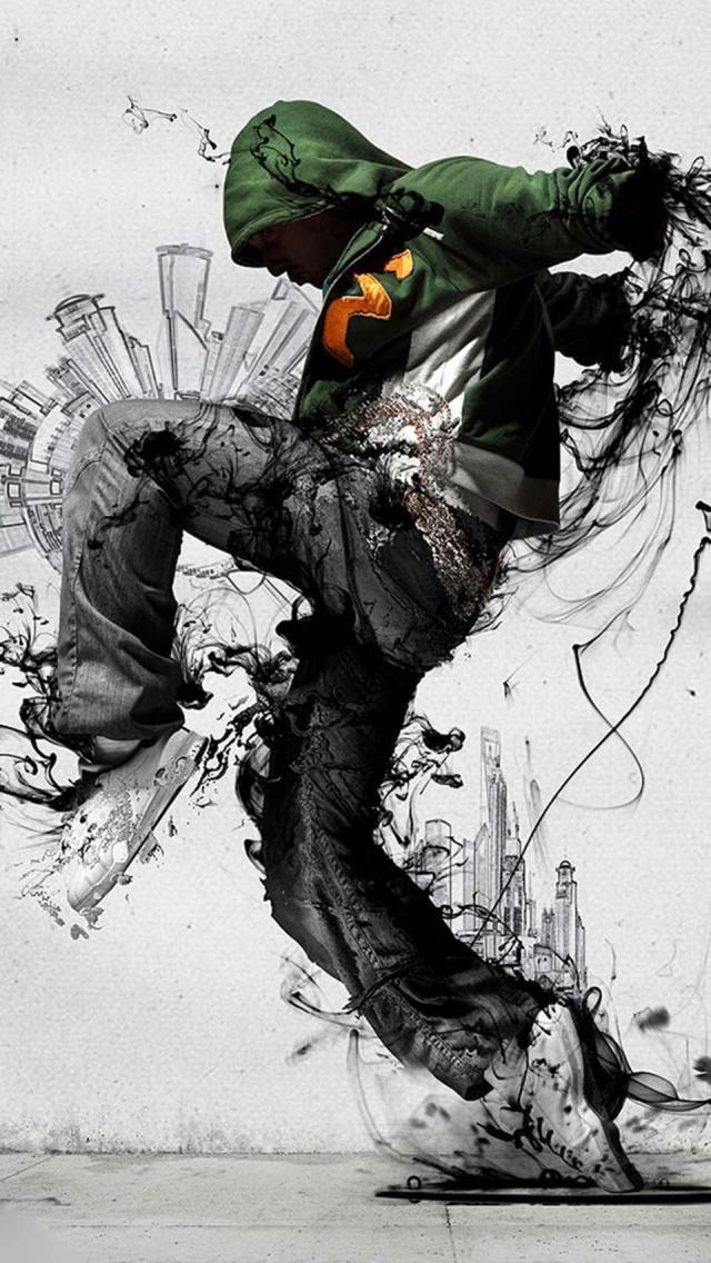 iphone 5 breakdancer hip hop art Dance wallpaper, Urban