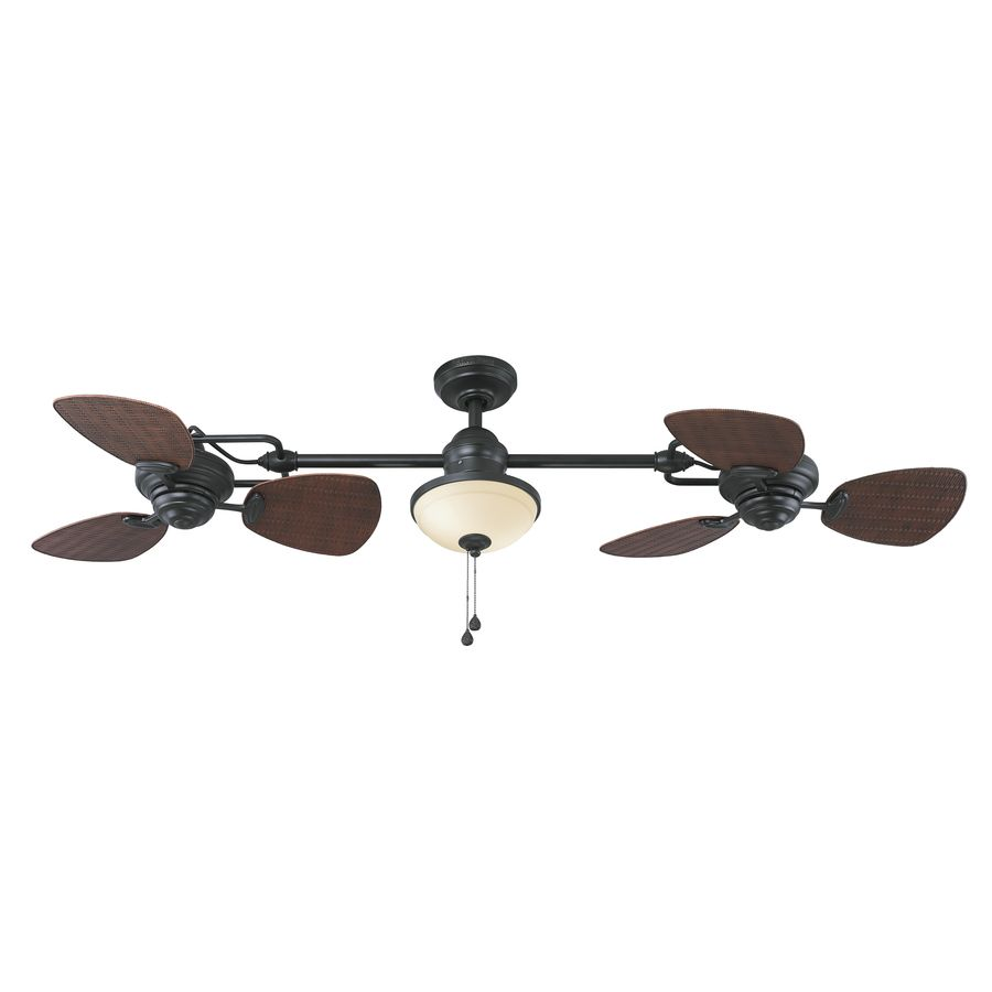 Pin On The B House Double ceiling fan with light