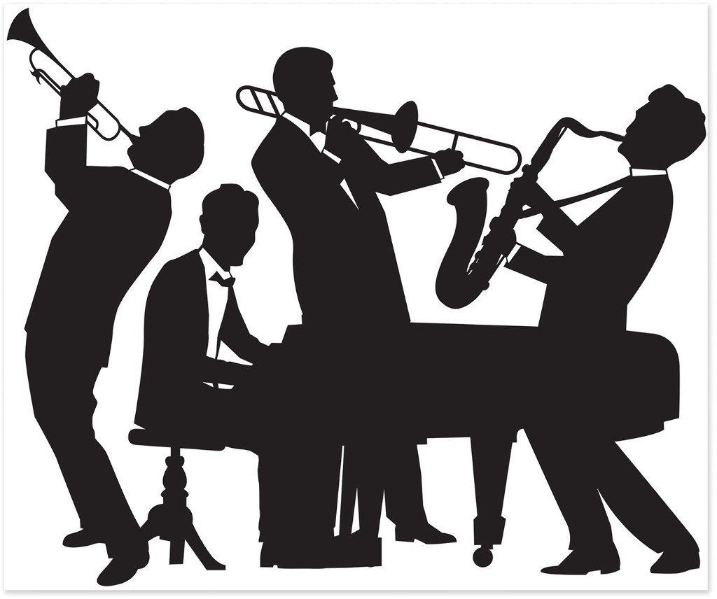 great 20's jazz band insta-mural - 6 units