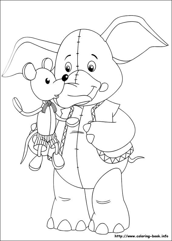 noddy coloring pages - photo#12