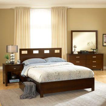 Costco: Paxton 5-Piece Queen Storage Bedroom Set | Food & Drink ...