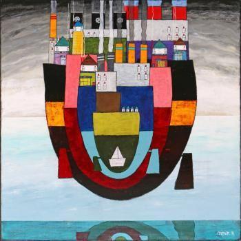 Artiste Edouard CRIBIER - Digigraphie®, Peintre