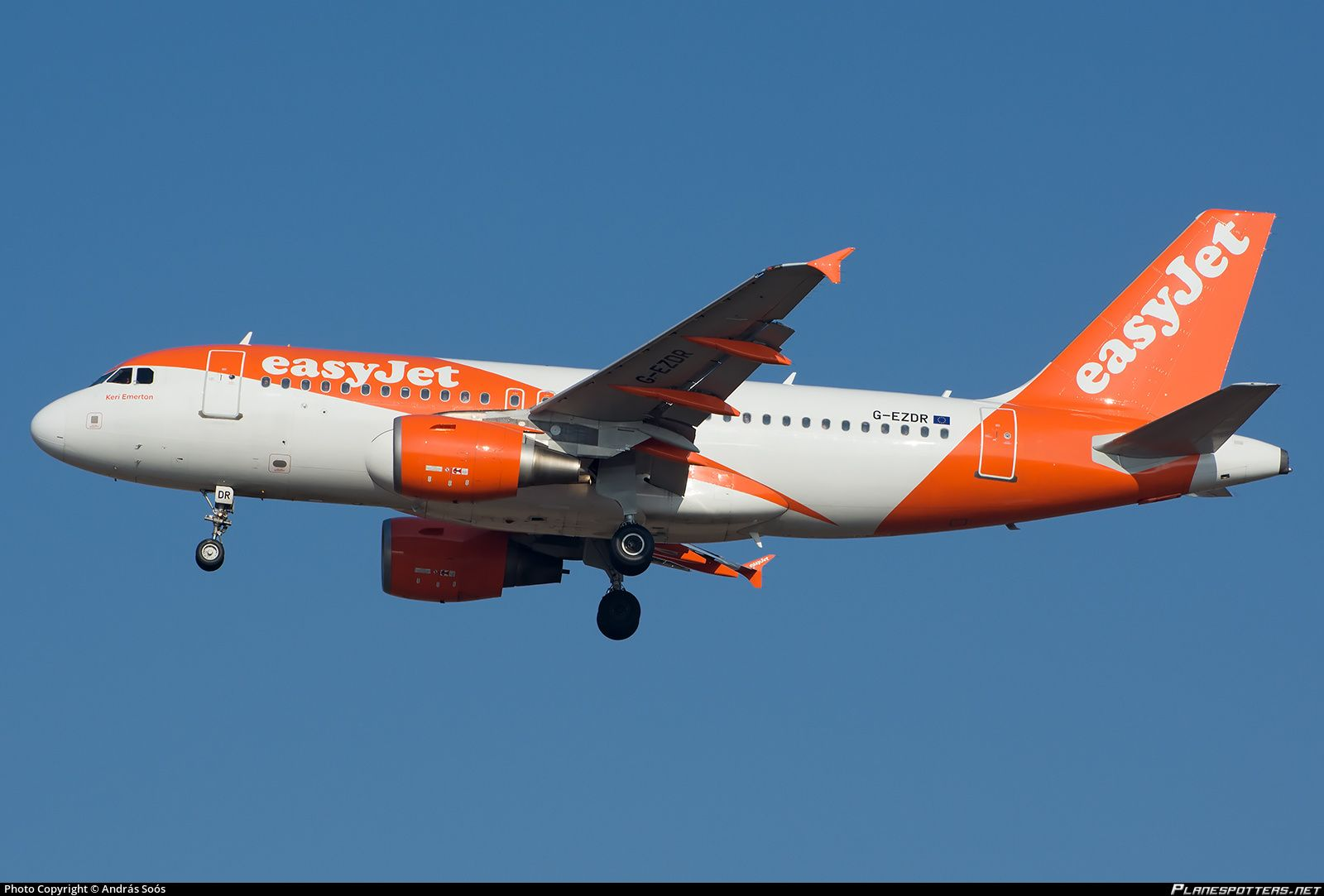 G-EZDR easyJet Airbus A319-111