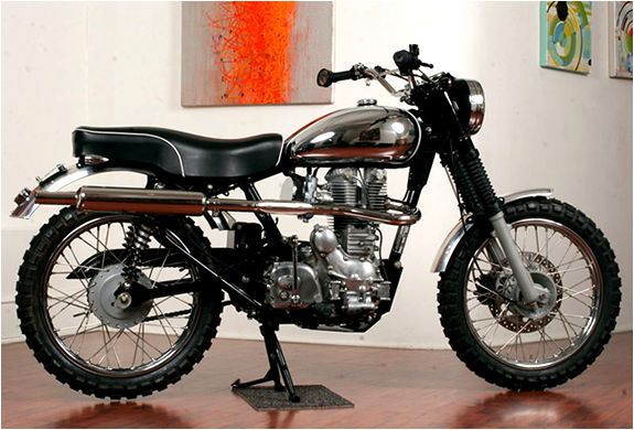 Royal Enfield 500 'Woodsman' by Hammarhead Industries