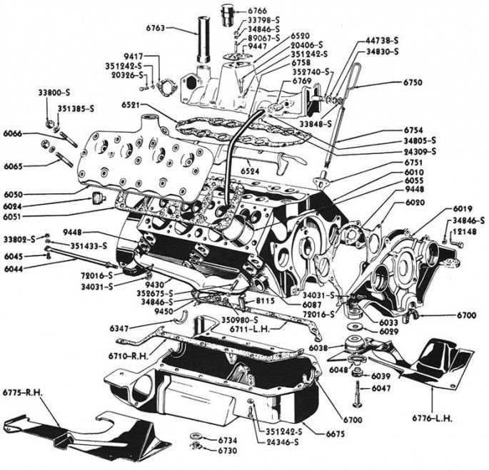 Flathead Engines (Y-Block)