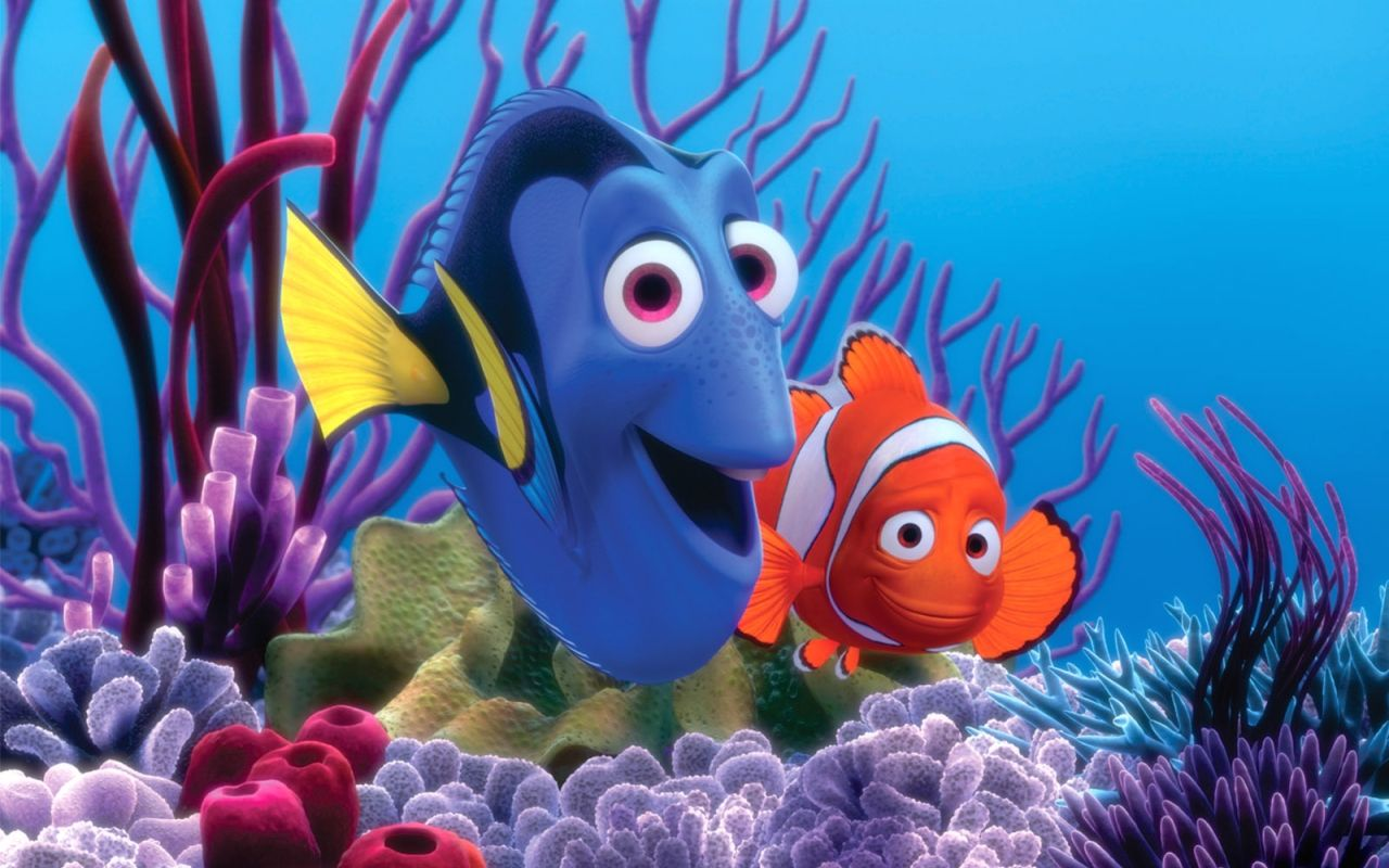 Finding Nemo just keep swimming My motto when I am