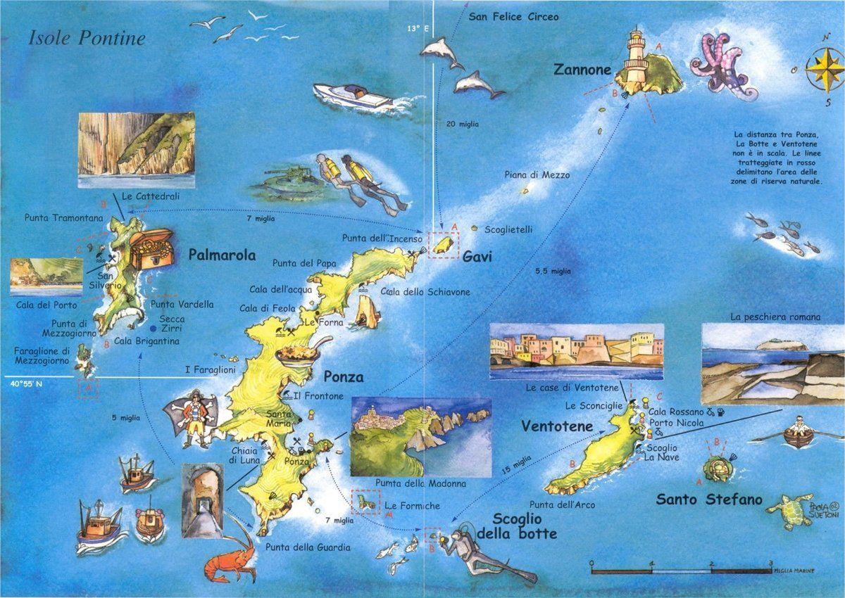 Isole Pontine Travel Pinterest Ponza Italy Italy And Italy