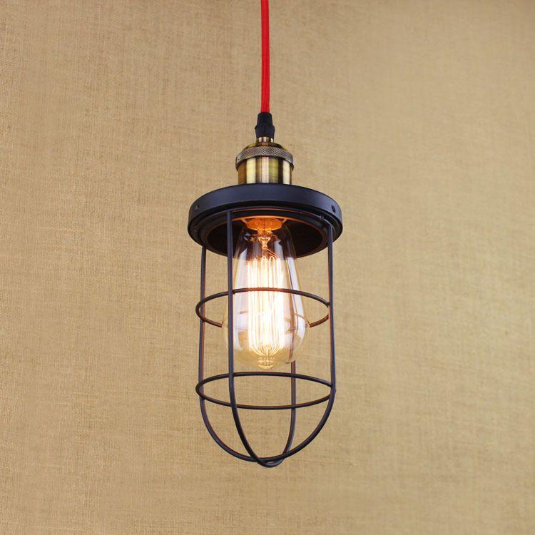American nordic retro loft style industrial lamp led pendant light american nordic retro loft style industrial lamp led pendant light fixtures for bar lampe edison vintage aloadofball Gallery
