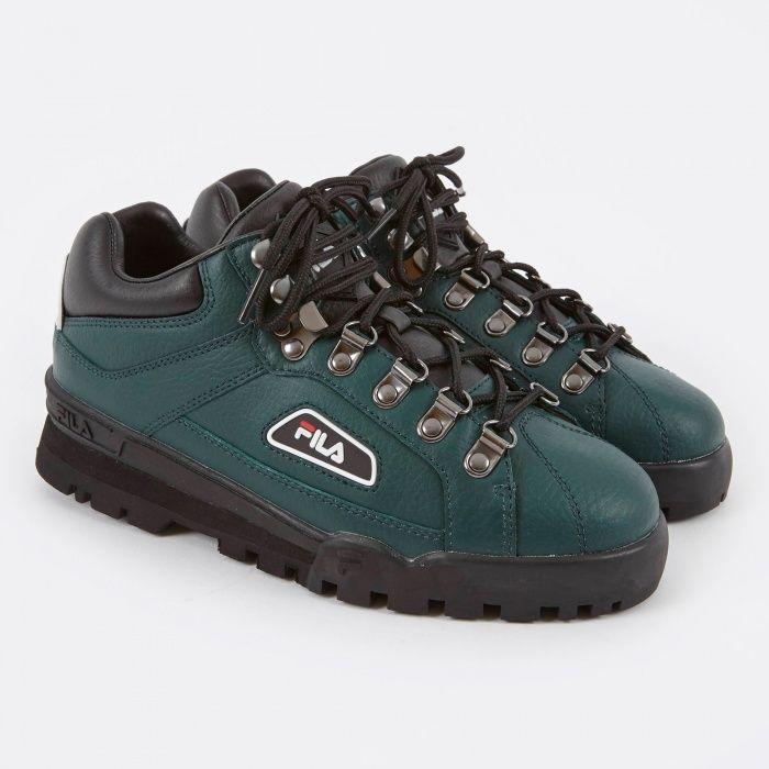 FILA Trailblazer Green Joggesko, sko, kvinner  Sneakers, Shoes, Women