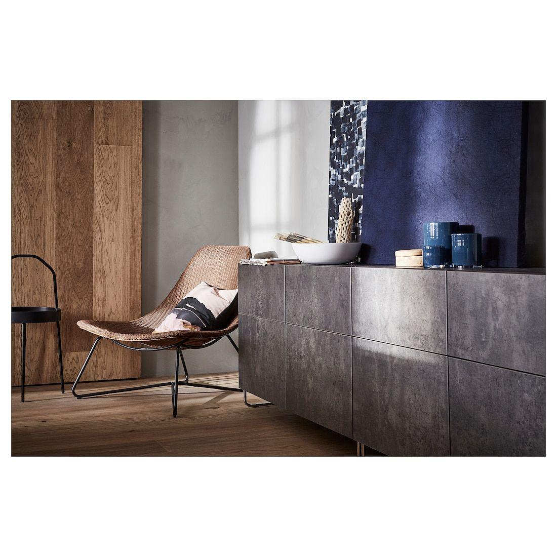 Besta Combi Rgt Portes Tiroirs Brun Noir Kallviken Sularp Gris Fonce Imitation Ciment Ikea Ikea Mobilier De Salon Meuble Deco