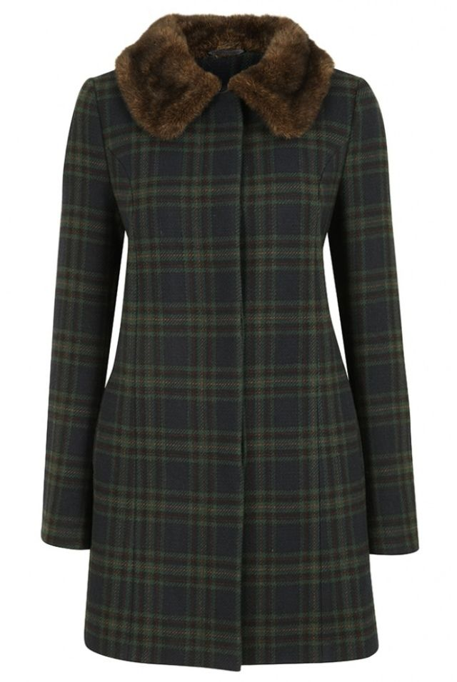 I discovered this Louche Ronnie Check Coat on Keep. View it now.