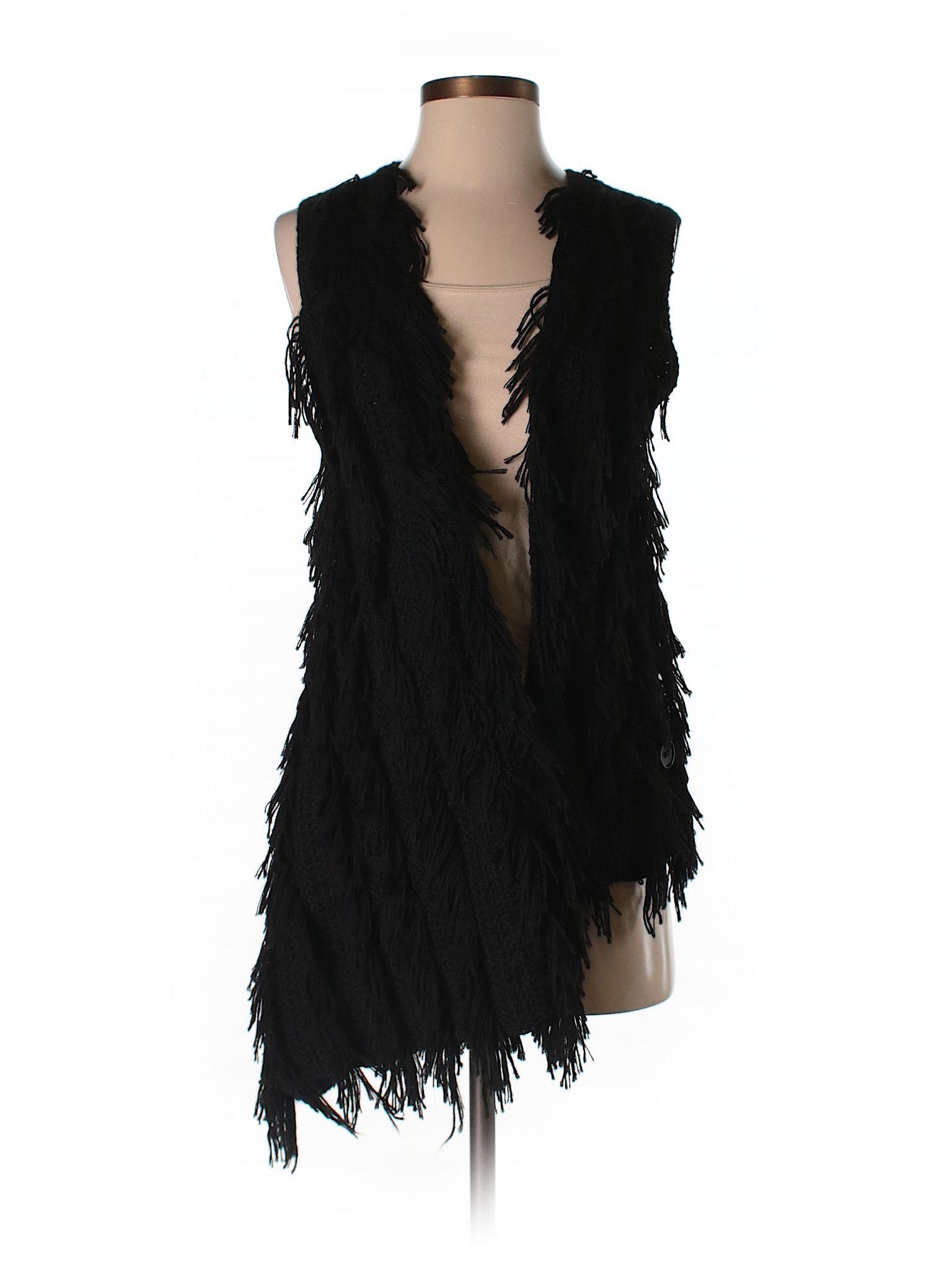 Faux Fur Vest Faux fur vests, Jackets for women, Fashion