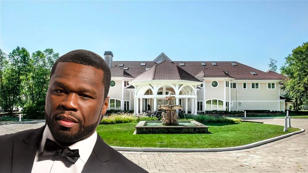 50 Cent S Mansion To Appear On Million Dollar Listing Mansions Celebrity Real Estate Luxury Remodel
