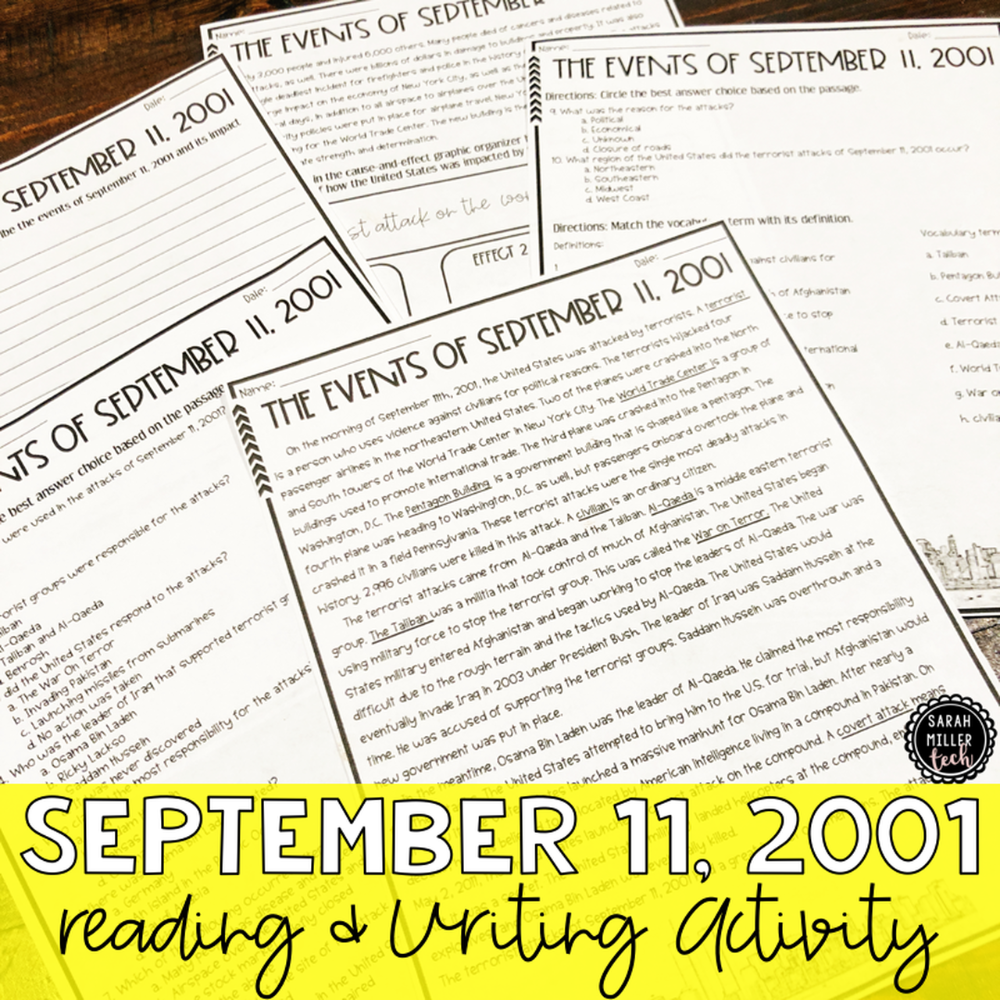 Events Impacts Of September 11 2001 Ss5h7b Social Studies Curriculum Reading Writing 5th Grade Reading [ 1000 x 1000 Pixel ]