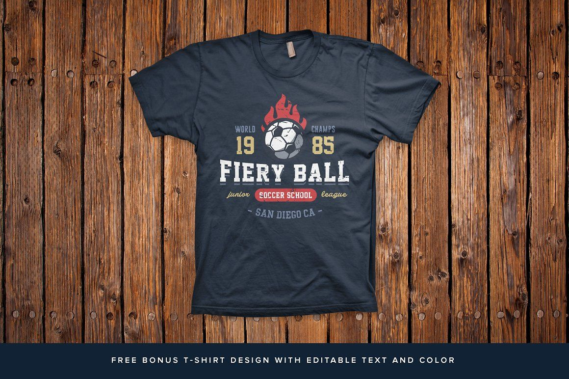 1b82776b6 Sports Logos Soccer Football Edition by Tortugastudio on @creativemarket