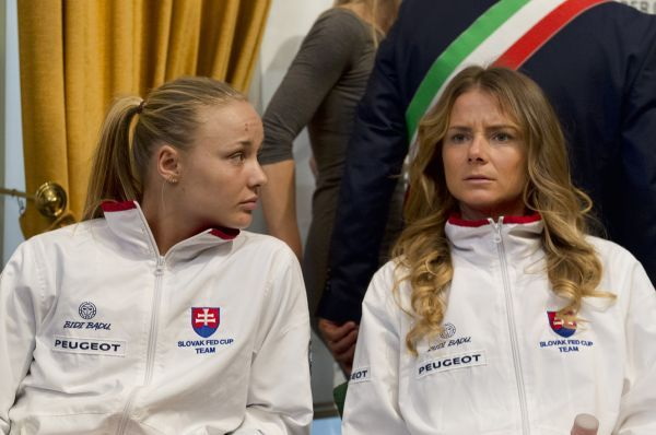 Rebecca Šramková and Daniela Hantuchová, Fed Cup 2017
