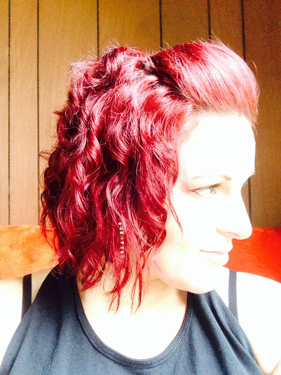 My Bright Red Hair Without Bleach Color Correct To Get Rid Of