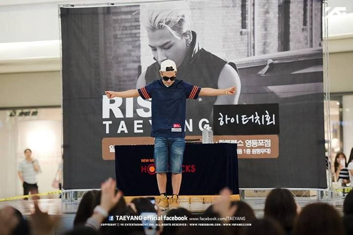 Taeyang @ Times Square Mall in Seoul on June 29