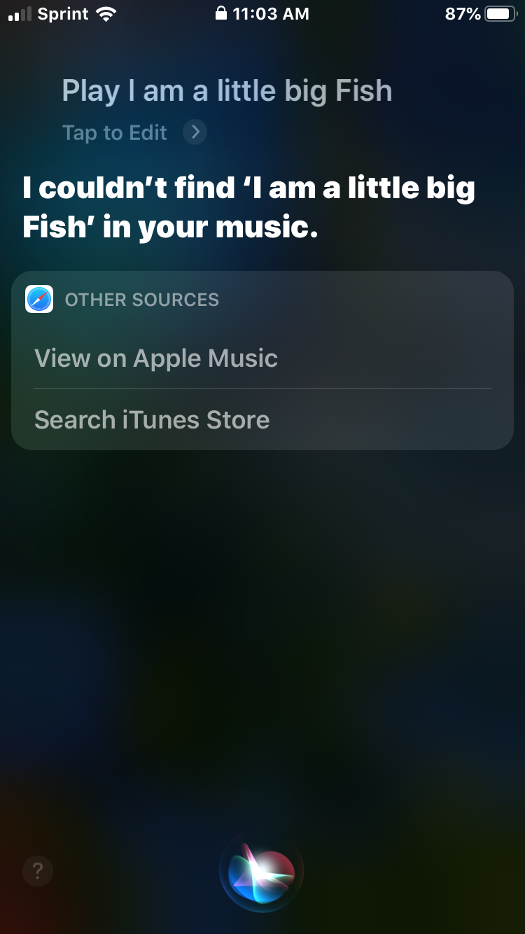 My Friend Was Trying To Send Me A Message Through Siri Music Search Apple Music Sent